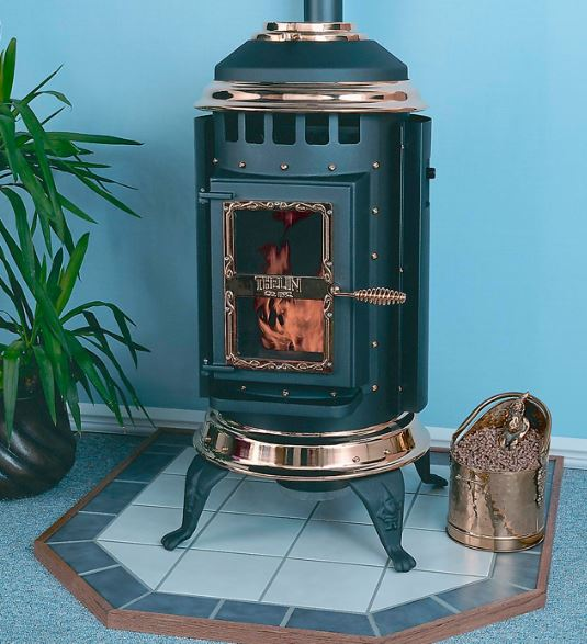 Thelin pellet stove