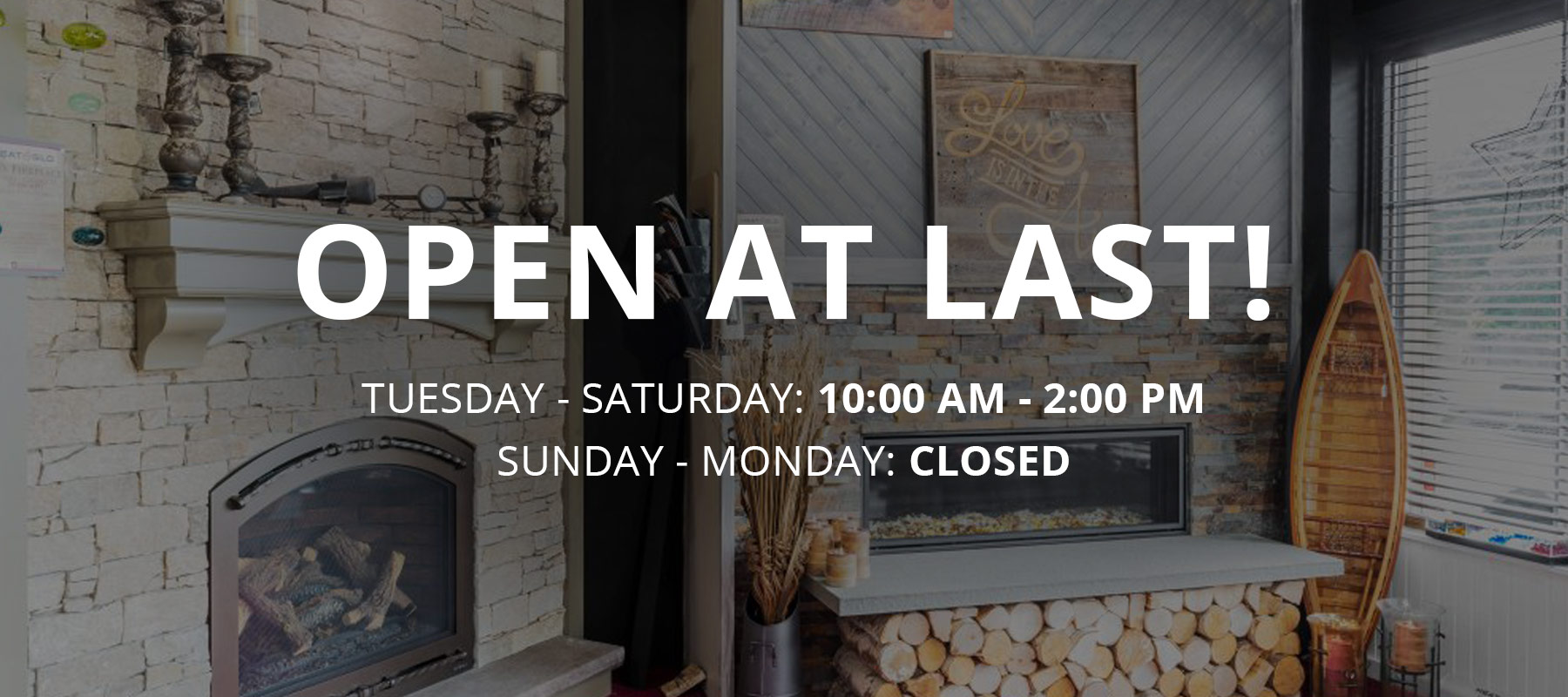 Open At Last