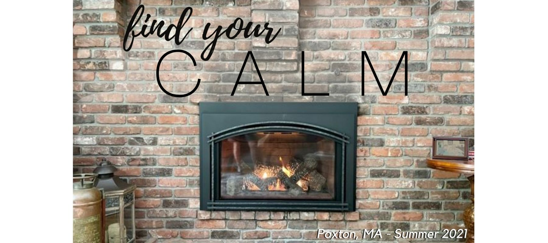 find your calm with a new fireplace or stove from Enchanted Fireside