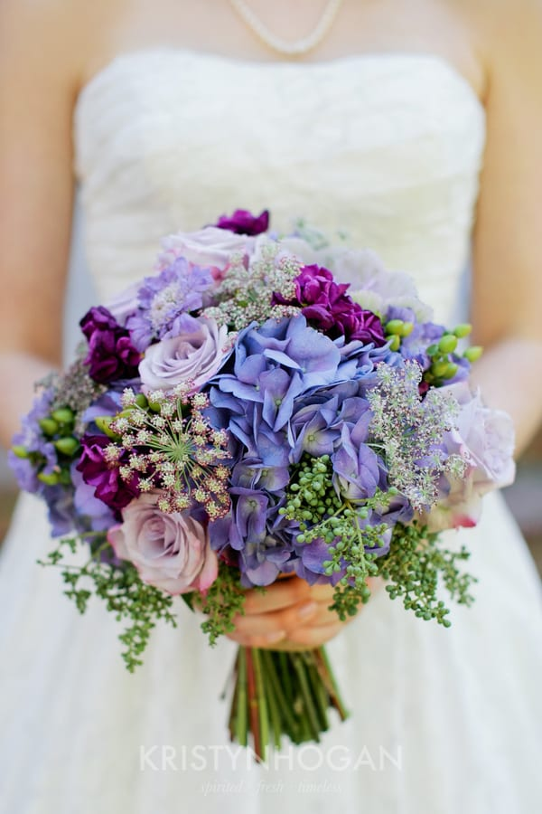 Enchanted Florist | Purple, Lavender and Plum | Outdoor Wedding at ...