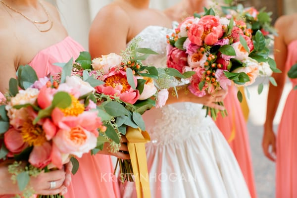 Enchanted Florist, Pink Wedding Downtown Nashville, Kristyn Hogan Photography (51)