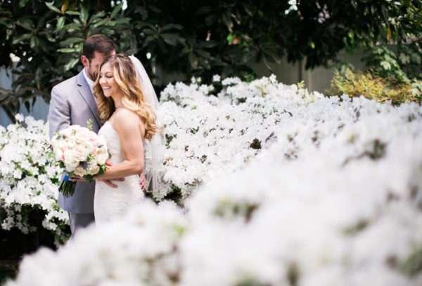 pink blue southern wedding enchanted florist
