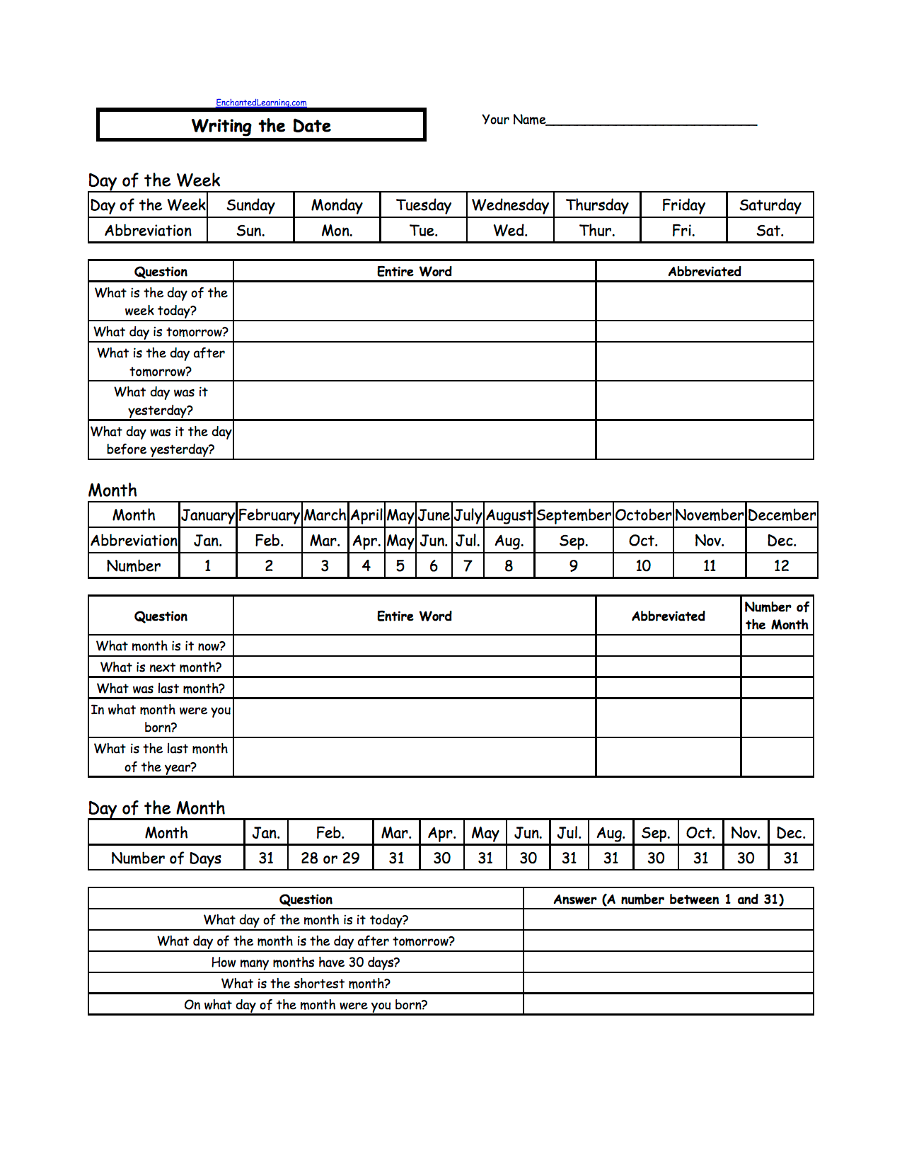 Writing A Date Us Format