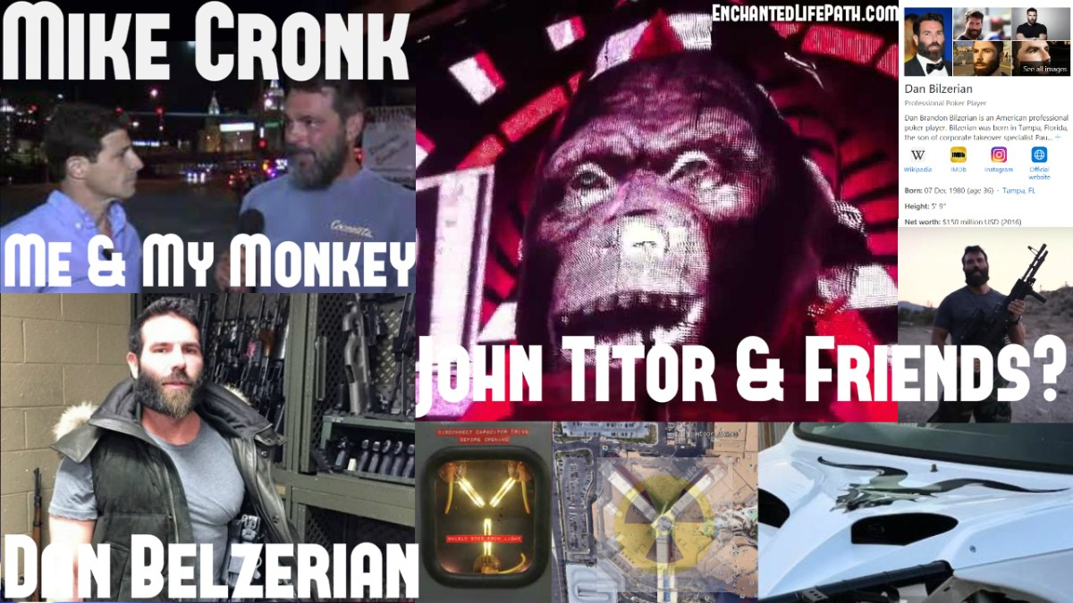 LAS VEGAS DEBATE: Dan Bilzerian & The Mystery Of Mike Cronk - Are They The Same Person? Time Travel, Vegas Wars, MSM Clowns, Shapeshifters, Flux Capacitor, Anti-Christ?