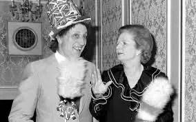 ken dodd Margaret Thatcher