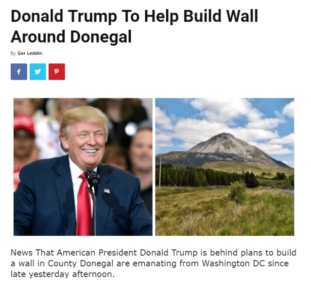 Donegal Trump Made