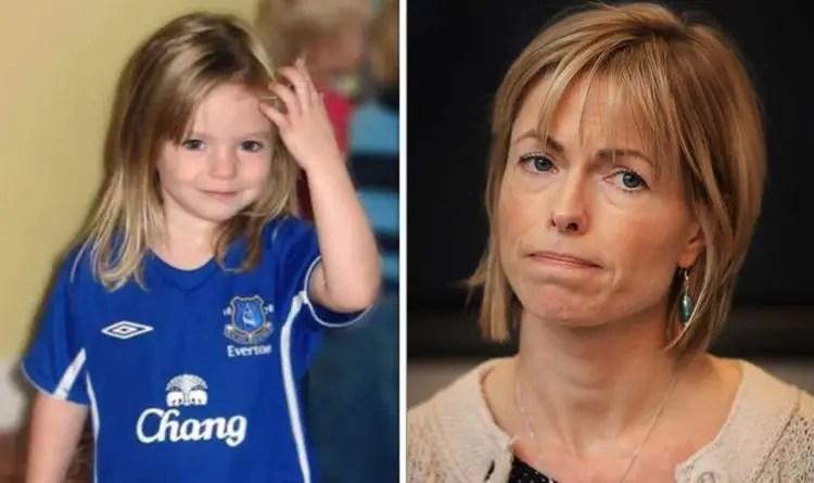 Madeleine McCann fake Everton Top Photograph