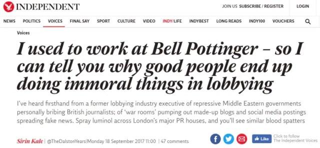 Bell Pottinger, Madeleine McCann, Enchanted LifePath