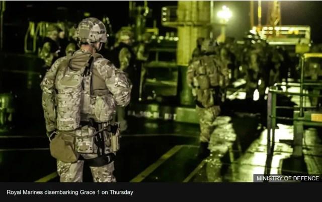 Royal Marines Seize Iranian Oil Tanker - Enchanted LifePath Reports