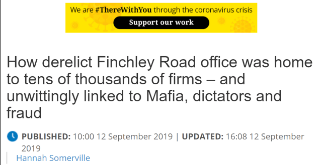788-790 Finchley Rd Mafia connections, dictators, fraud