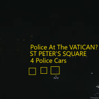 Police At Vatican NOW? Gun Shots Caught Live?