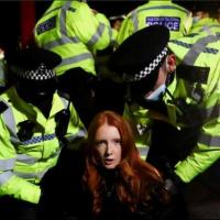 Patsy Stevenson: Crisis Actor Physics Grad Arrest at Sarah Everard Vigil