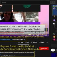 Summer Wells Reward Fund Scam Exposed As YT Rages At $32k Grab