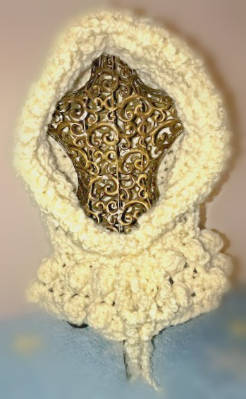 Snow White Hooded Cowl