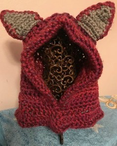 Cheshire Cat Hooded Cowl