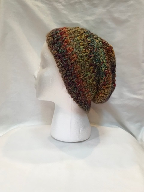 Multi-Color Chunky Slouch Hat