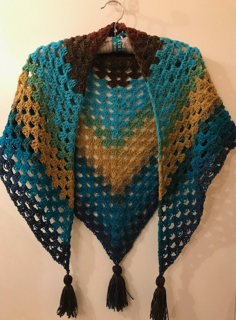 The Sphinx Shawl