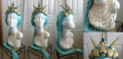 Sea Goddess Crown & Necklace