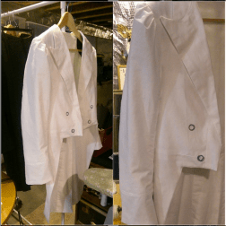 """Mockup tailcoat ready to be sent out! Which means waistcoat work starts tomorrow!"""