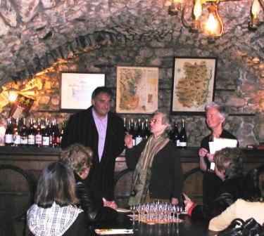 Beaujolais 2 - Former Mayor of Beaujolais Wine Tasting