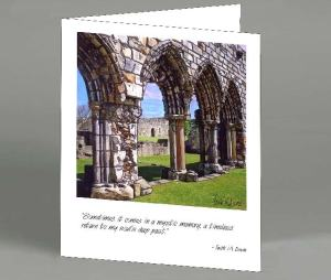 Arches St. Andrews Note Card