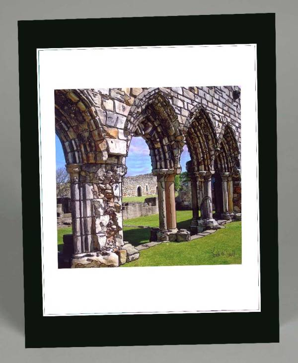 Arches St. Andrews Wall Hanging