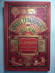 337. VERNE. Voyages extraordinaires. La Jangada. Huit cents lieues sur l'Amazone.