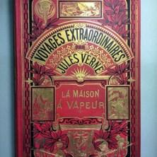 338. VERNE. Voyages extraordinaires. La Maison à vapeur. Voyage à travers l'Inde septentrionale.