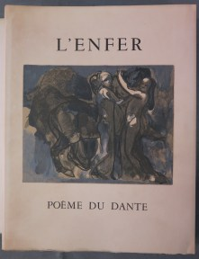 269. DANTE. L'Enfer, illustré par Rodin.