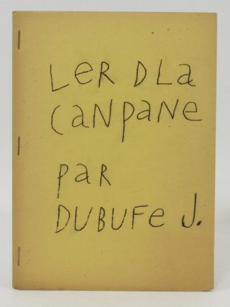Bibliothèque André Frénaud. 26. DUBUFFET