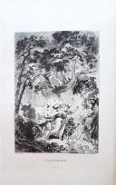 207. LA FONTAINE. Contes. Avec illustrations de Fragonard. Réimpression de l'édition de Didot, 1795. Revue et augmentée d'une Notice par M. Anatole de Montaiglon. Paris, J. Lemonnyer, 1883.