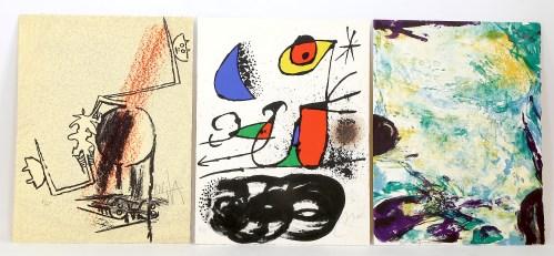 415. CHAR. Le Monde de l'art n'est pas le monde du pardon. Paris, Maeght, 1974.