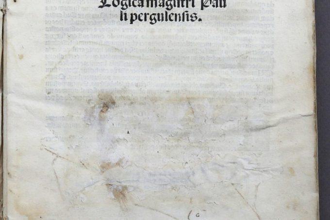 340. [INCUNABLE]. PERGULENSIS. 1495