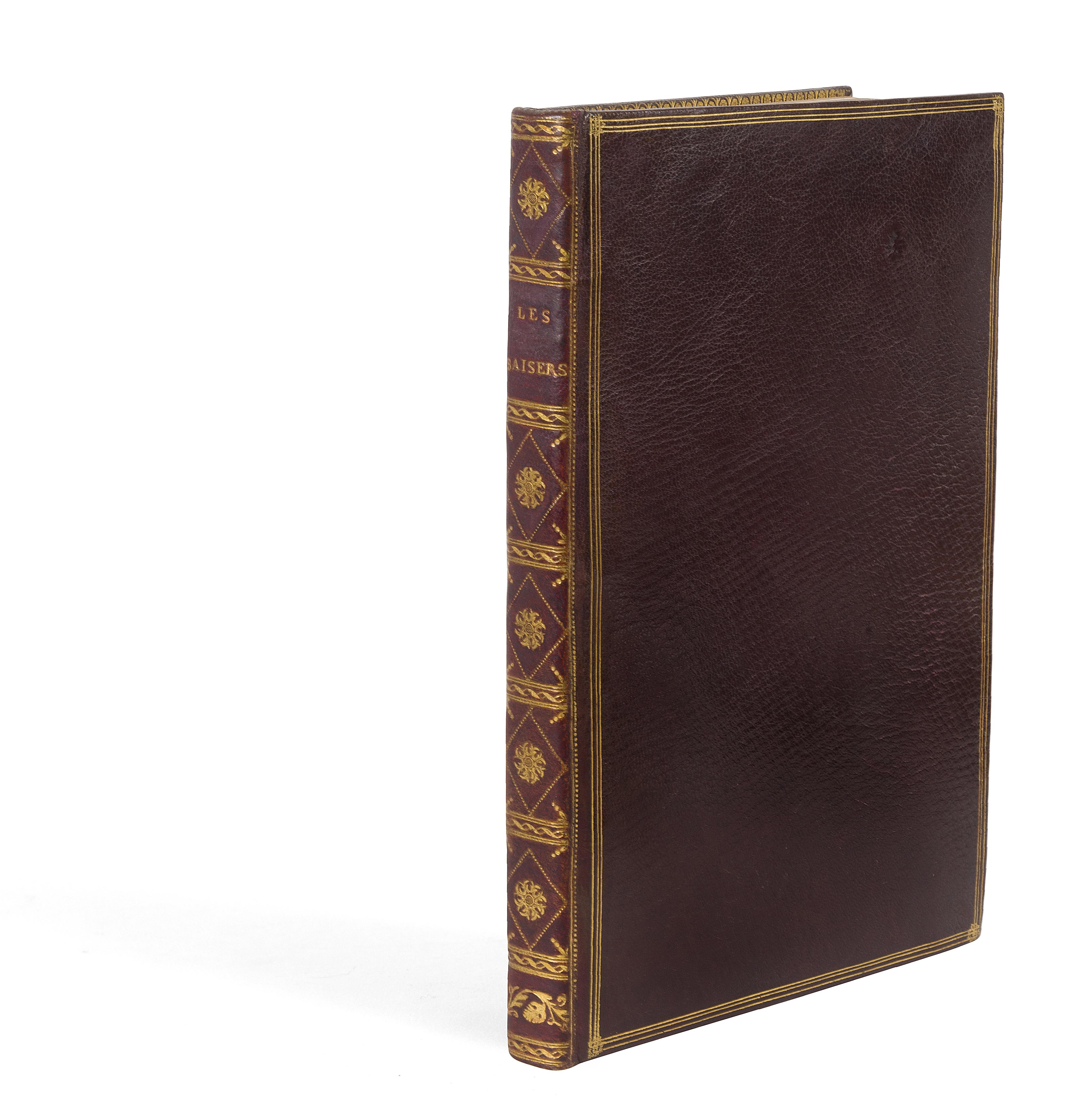 19. DORAT. Les Baisers. La Haye, Paris, Lambert, Delalain, 1770. Relié par Derôme.