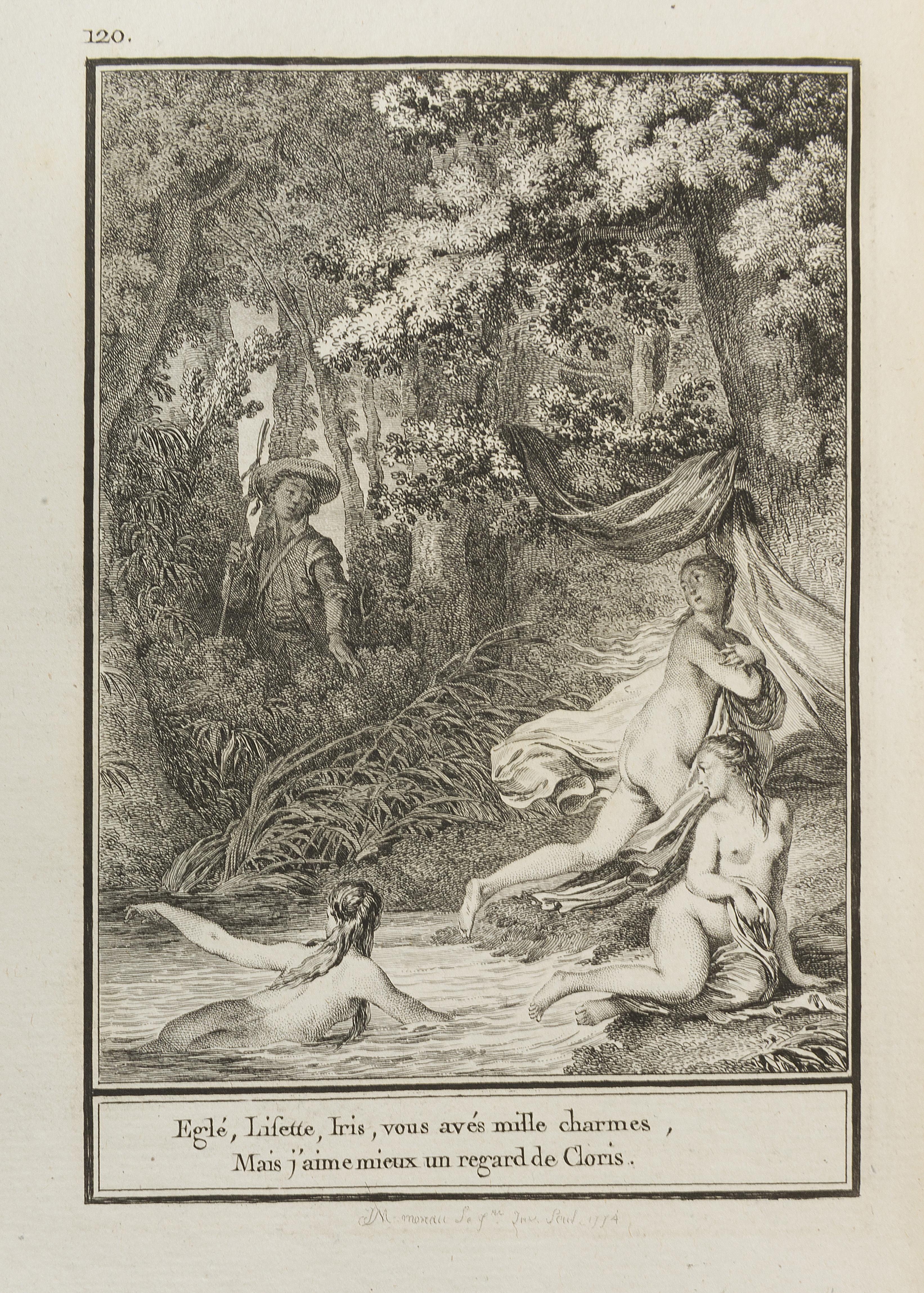 38. LABORDE. Choix de chansons. Paris, de Lormel, 1773.