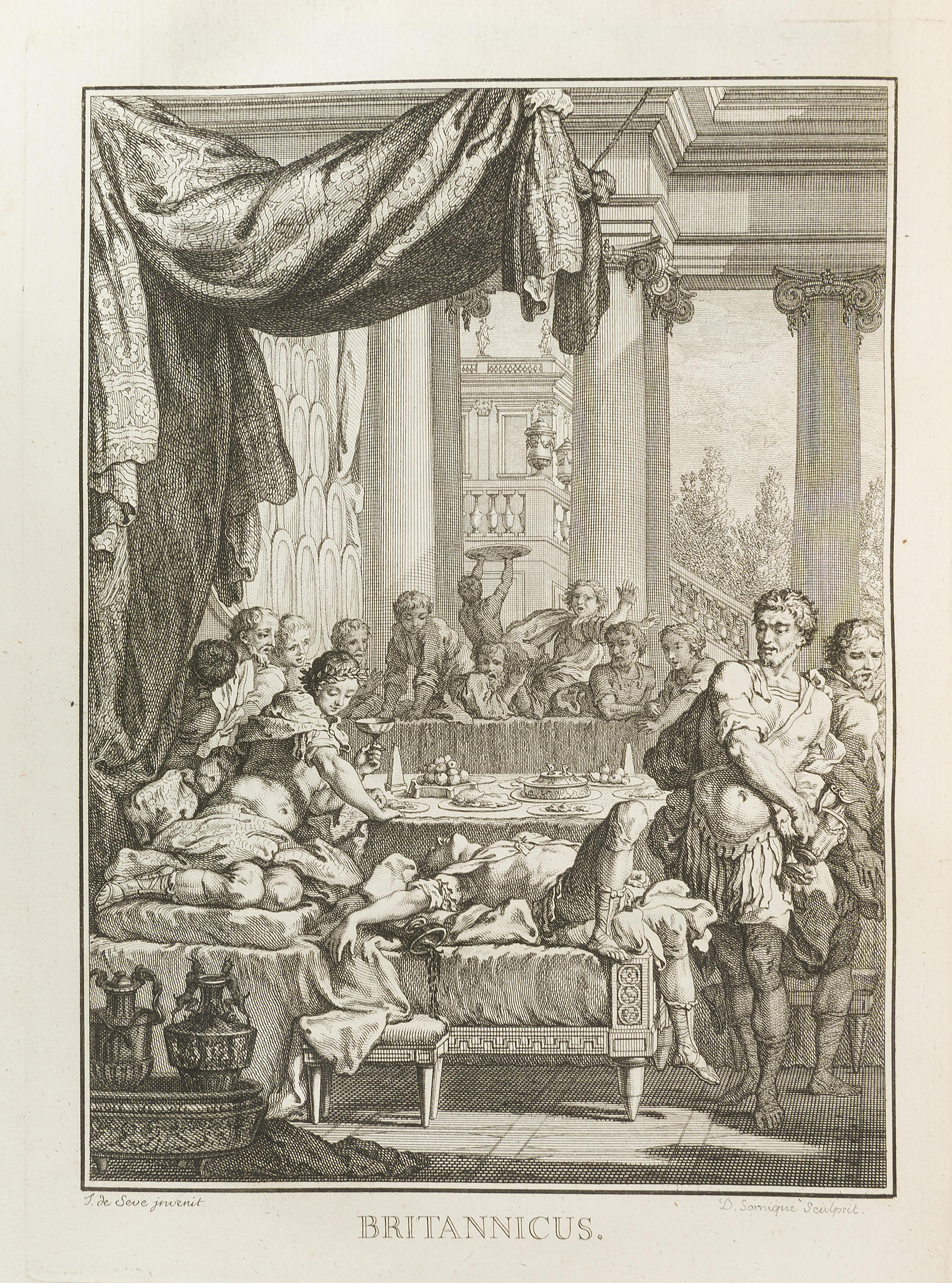 66. RACINE. Œuvres. Paris, [David], 1760.