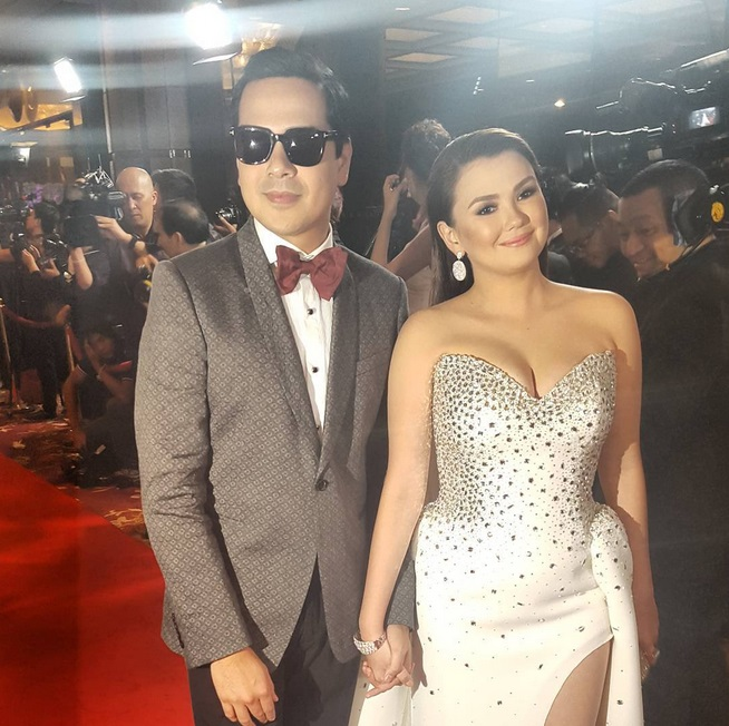 Angelica Panganiban and John Lloyd Cruz