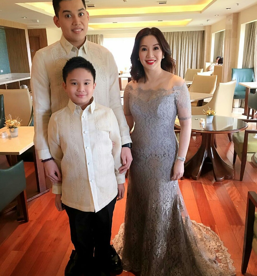 Look! Kris Aquino Stunning As Ninang Of All Media - Enchos.com