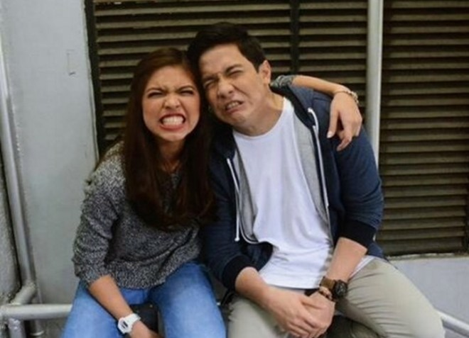 ALDUB Wacky Photo In Broadway