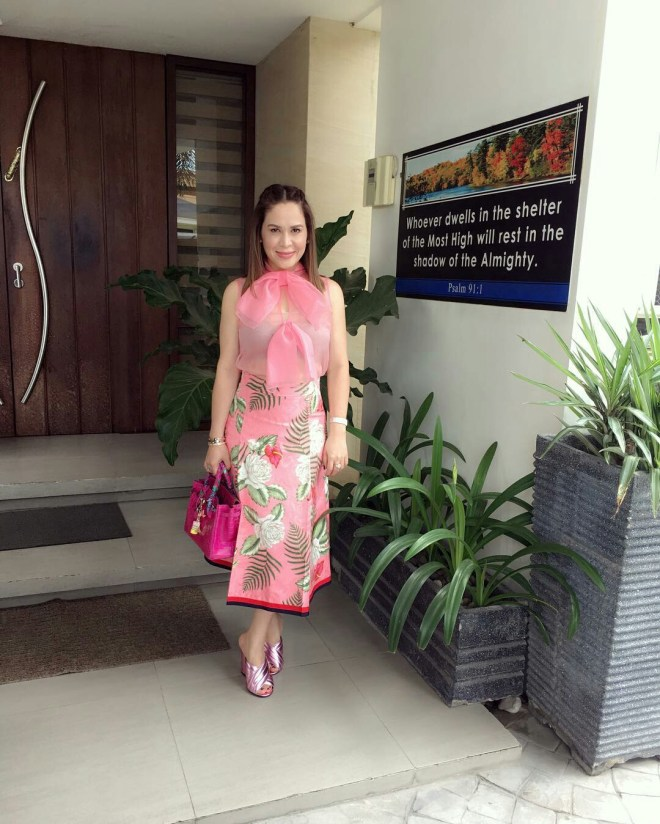 Jinkee Pacquiao Church OOTD August 21 2016