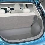 Maletero del Nissan Leaf