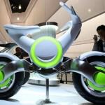 Prototipo Yamaha expuesta en el salón de Tokio