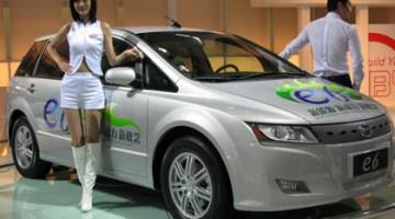 BYD e6 200kw llegará a España en 2010 y subvencionado por el plan Movele