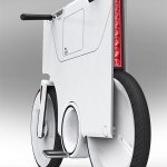 imagen trasera de la bici eléctrica ebiq