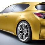 Lexus LF-Ch, render posterior