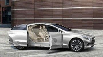 Mercedes F 800 Style, motor híbrido, y con pila de combustible
