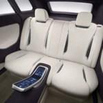 Imagen de los asientos del Mitsubishi concept px-miev