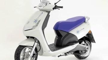 El e-VIVACITY es un concepto de scooter eléctrico