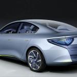 Imagen trasera del Renault Fluence Zero Emission Concept
