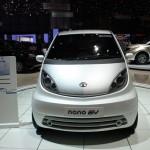 imagen del frontal del Tata Nano EV